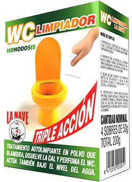 limpiador WC La NAve