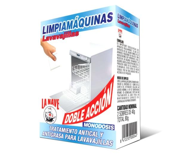 Limpiamáquinas lavavajillas comprar en tienda online La Nave
