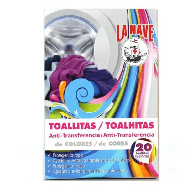 r toallitas antitransferencia de color La Nave comprar en tienda online La Nave