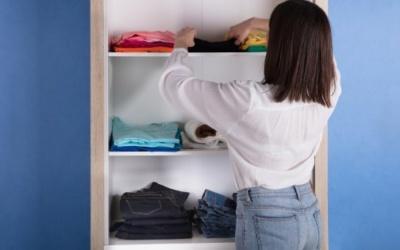 Cambio de armario: Trucos para hacerlo más fácil.